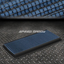 FOR 98-02 CHEVY CAMARO V6/V8 BLUE REUSABLE&WASHABLE HIGH FLOW PANEL AIR FILTER