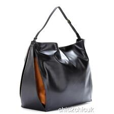 STELLA McCartney NERO Beckett BIG HOBO BAG SHOULDER BAG POCHETTE WALLET rrp800gp