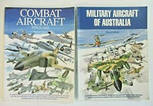 STEWART WILSON COMBAT AIRCRAFT SINCE 1945 AND MILITARY AIRCRAFT OF AUSTRALIA.