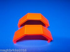 Lego® 2 Paneele 3x3x6 in transparent neon orange 2466