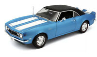 1968 Chevy Camaro Z/28 Coupe Blue 1/18 Scale Maisto Special Edition Sold New