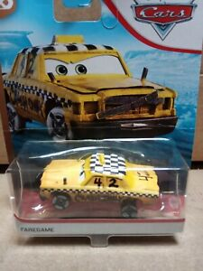 Disney Pixar Cars 3 Faregame Taxi New Cars Collection