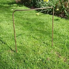 "15 Heavy Duty 16"" Handmade Iron Victorian Design Bow Plant Supports 5/16"" Bar"