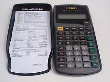 Texas Instruments TI-30XA Scientific Solar Calculator Sliding Case Cover Math