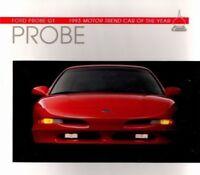 1993 Ford PROBE Brochure / Catalog / Pamphlet / Flyer: GT, SE