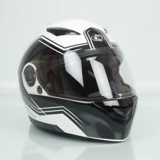 Casque moto modulable One Outline 2.0 blanc noir homme femme Taille XL 62cm Neuf