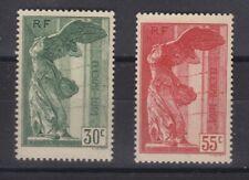France année 1937Victoire de Samothrace N° 344**N° 355** réf 1626