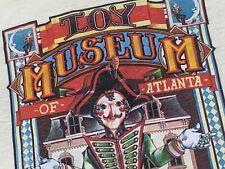S/M * NOS vtg 80s 1980 TOY MUSEUM OF ATLANTA t shirt * small medium * 86.94