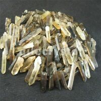 1/2lb Lot Lemurian Seed Black Quartz Crystal Point Terminated Waand Specimen
