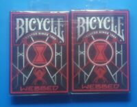 BICYCLE WEBBED PLAYING CARDS X 2 DECKS - SEALED BRAND NEW