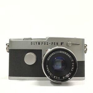 Olympus Pen FT Silver Auto-S 38mm f/1.8 SLR Half Frame Film Camera - GOOD