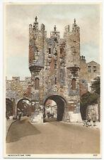 Yorkshire - York, Micklegate Bar - 1930's Postcard