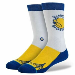 NWT Stance Golden State Warriors Sock Size Large (9-12)