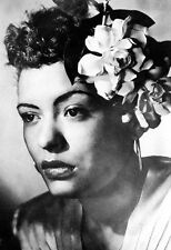 Billie Holiday Poster, Flowers, Lady Day, Jazz Singer