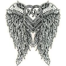 "Metal Mulisha HALO 6"" STICKER 1 LARGE DECAL Angel Wings MAIDEN AUTO FMX RACE"