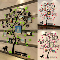 Removable Family Photo Frame Tree Sticker Living Room Wall Decals DIY Wall