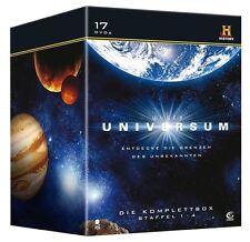 DVD UNSER UNIVERSUM - KOMPLETTBOX Staffel 1-4 auf 17 DVDs