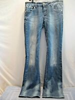 CELLO Women's JEANS Skinny Bootcut, Sz 9 Low Rise, Style YW-10420 RARE, Nice!