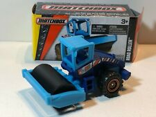 MATCHBOX ROAD ROLLER BLUE POWER GRABS w/ PICTURE BOX