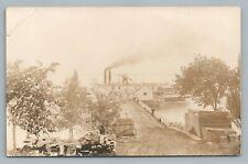 Empress Steamer TERREBONNE Quebec RPPC Antique Steamship Montreal Photo 1917