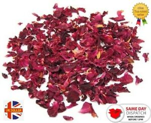 1 Bag of Dried Rose Petals Flowers  Natural Scent and Nothing Added by Cloe a...