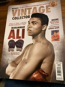 Vintage Beckett Collector Magazine--Ali on Cover
