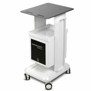 Beauty Salon Machine Stand Rolling Cart Beauty SPA Trolley Holder With storage