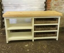 Kitchen Island No Assembly Required solid wood farmhouse kitchen islands & carts | ebay