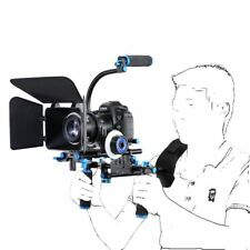Video Camera Shoulder Mount Rig Support Pad Stabilizer Follow Focus Matte Box CA