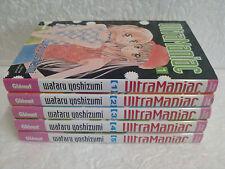 Lot manga Ultra Maniac tomes 1 à 5 Intégrale Yoshizumi Wataru Glénat Ultramaniac