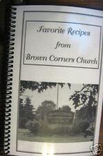 NEW Brown Corners Brethren Church Cookbook Clare MI