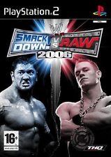 SmackDown Vs Raw 2006 (Sony PlayStation 2, 2005)