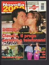 NOVELLA 2000 16/2000 AMADEUS MAVI FELLI MADONNA CHRISTENSEN PARIETTI PANDOLFI