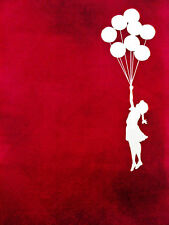 BANKSY ART PRINTS QUALITY BANKSY ART PHOTO PRINT NOT CANVAS (BALLON GIRL) NEW