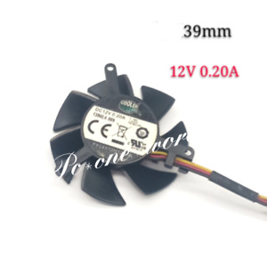 45mm Cooler Master FY04510H12SFA Fan Replacement 39mm 3Pin 0.20A Graphics fan
