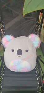 """SQUISHMALLOW 16"""" LARGE PILLOW PET SOFT TOY XMAS GIFT koala furry belly Ears"""
