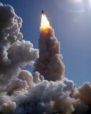 New 11x14 Photo: 180 degree Turn & Burn of Space Shuttle Columbia Launch, 1992