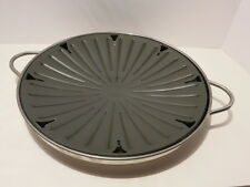 "Circulon H0096 by Meyer 14"" Non-stick Griddle/Fish Poacher with Handles"