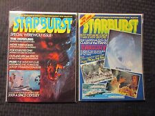 1980 STARBURST Magazine LOT of 2 FN+ 6.5 #34 35 The Howling - Altered States