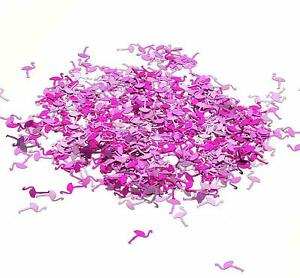 40g of Pink Flamingo Table Confetti Sprinkles Plastic Birthday Decorations