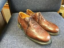 Dr. Martens Leather Oxford Wing Tip Sz 8 NWT
