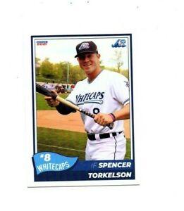 Spencer Torkelson West Michigan Whitecaps ROOKIE team set card Detroit Tigers