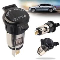 Car 10A Cigarette Lighter Female Socket Power Plug with Waterproof Cover SN9F