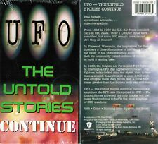 UFO Untold Stories Continue VHS Video Tape New
