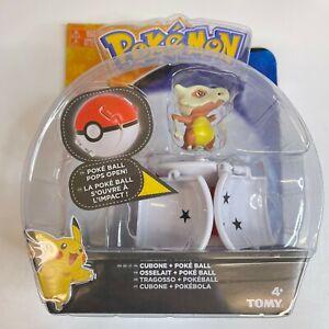 Pokemon Cubone Throw N Pop Poke Ball Ultra Ball Figure