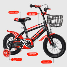 Kids Children 12Inch Bicycle Cycling For Boy Girl Removable Stabilisers GIFT UK