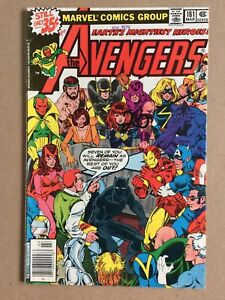 AVENGERS #181 FN – KEY 1St Appearance Scott Lang Ant Man MARVEL COMICS