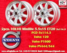 2 Cerchi Volvo 120, P1800, PV444/544 5.5x15 5x114.3 Wheels Felgen Llantas Jantes