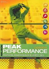 Nelson Peak Performance Physical Education VCE Units 3 and 4 by Amanda Telford P
