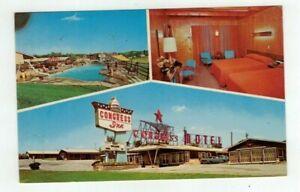 PA Harrisburg Pennsylvania vintage post card - Congress Inn Motel